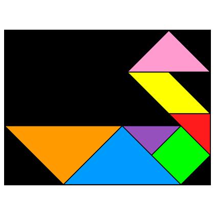 Duck+tangram